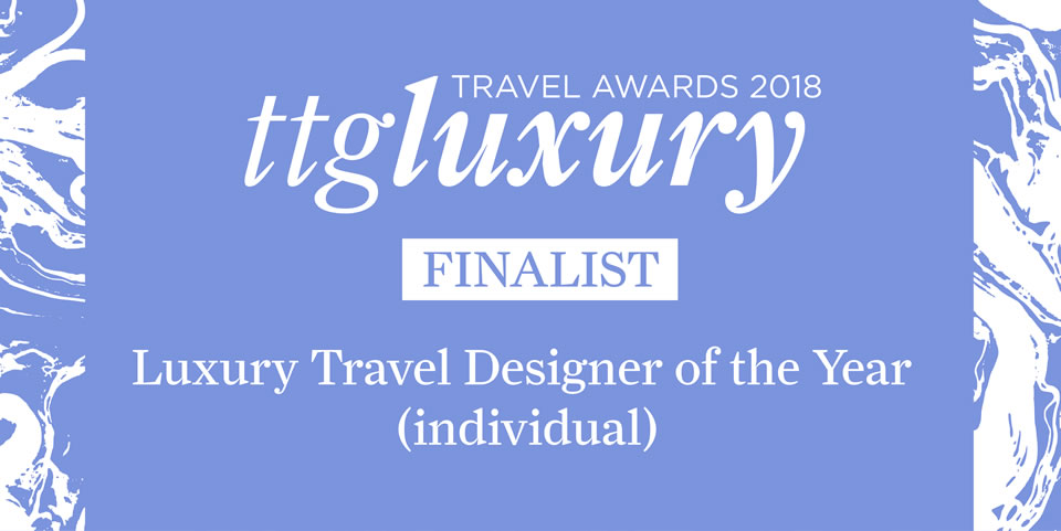 Luxury Travel Designer of the Year (individual) TTGLA18 - Finalist